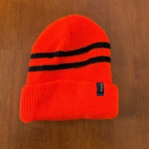 Brixton Orange & Black Beanie